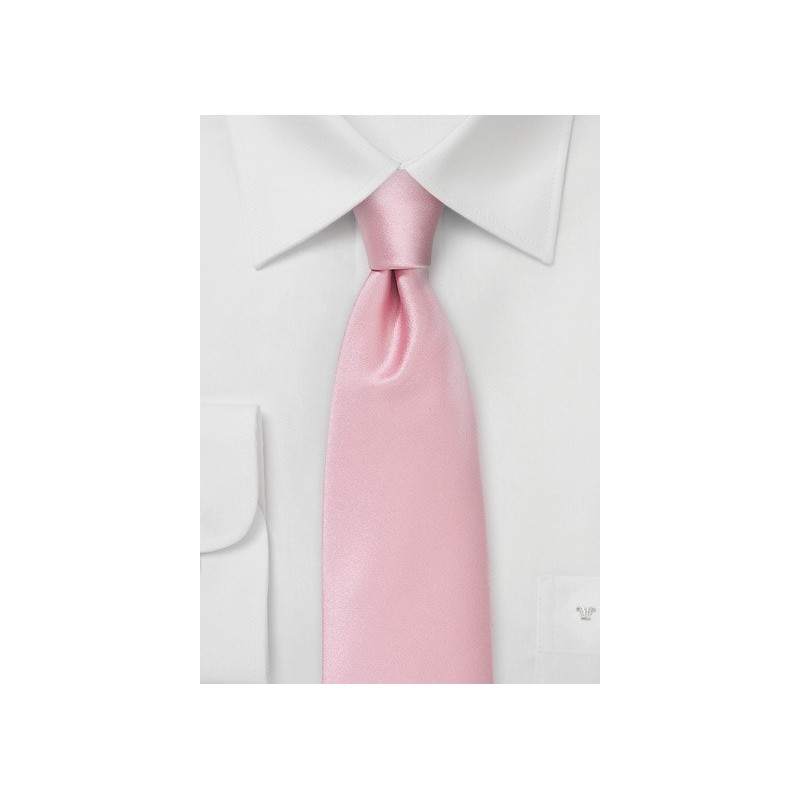 Elegant Mens Tie in Summer Pink