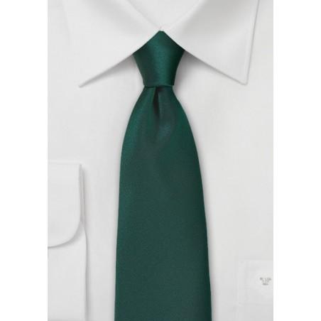 Dark Hunter Green Colored Necktie