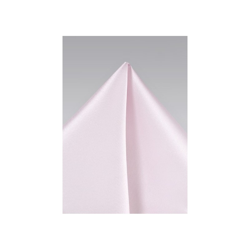 Blush Pink Colored Pocket Square