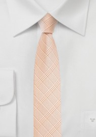 Super Skinny Tie in Coral Sands Color