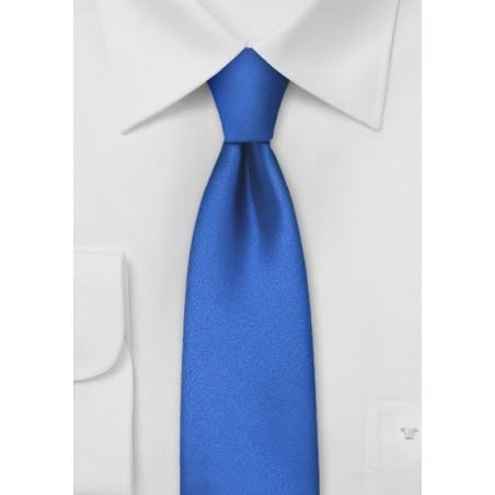 Skinny Necktie in Horizon Blue