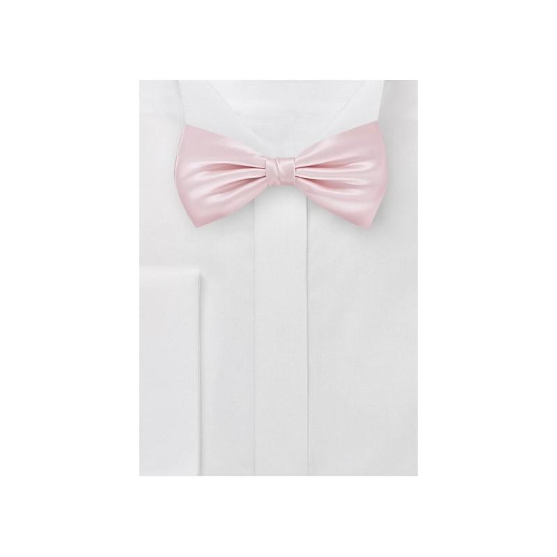Elegant Bow Tie in Antique Blush