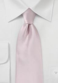 Kids Tie in Blush Pink