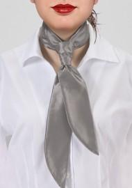 Women's Necktie in Festive Silver