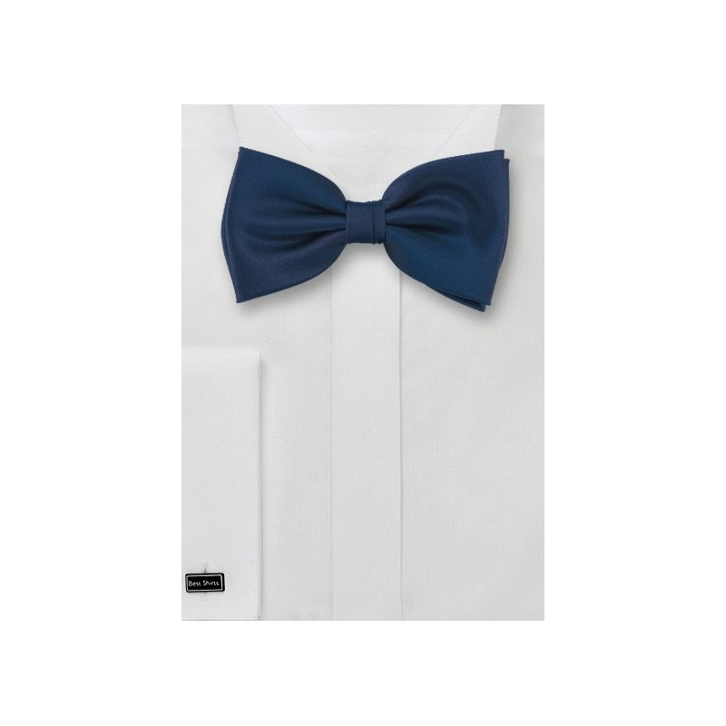 Dark Navy Kids Bow Tie