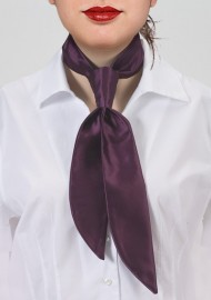 Grape Colored Womens Necktie
