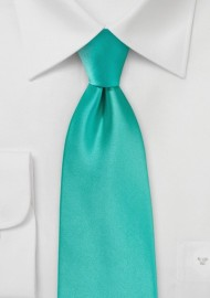 Mermaid Satin Mens Tie in XL Length
