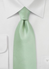 Extra Long Tie in Seacrest Green