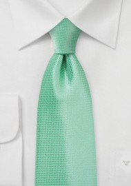 Winter Mint Tie for Kids