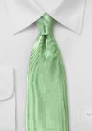 Tea Green Silk Tie