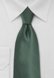 Pine Green Kids Tie in Solid Colors