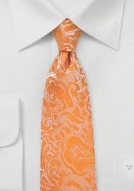 Tangelo Paisley Tie in Kids Size