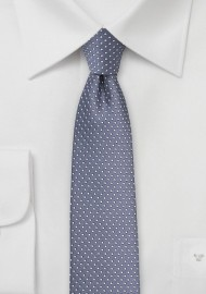 Wisteria Purple Pin Dot Tie