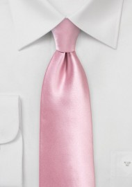 Solid Necktie in Dusty Rose