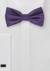 Majesty Purple Bow Tie