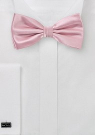 Mens Bow Tie in Dusty Rose