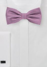 Raspberry Colored Bow Tie