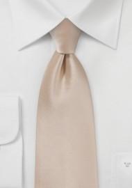 Kids Necktie in Champagne