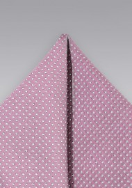 Pocket Square in Orchid Pink