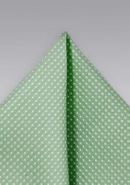 Sage Colored Pocket Square
