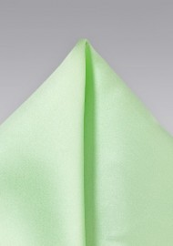 Light Mint Color Pocket Square