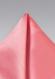 Tulip Pink Pocket Square