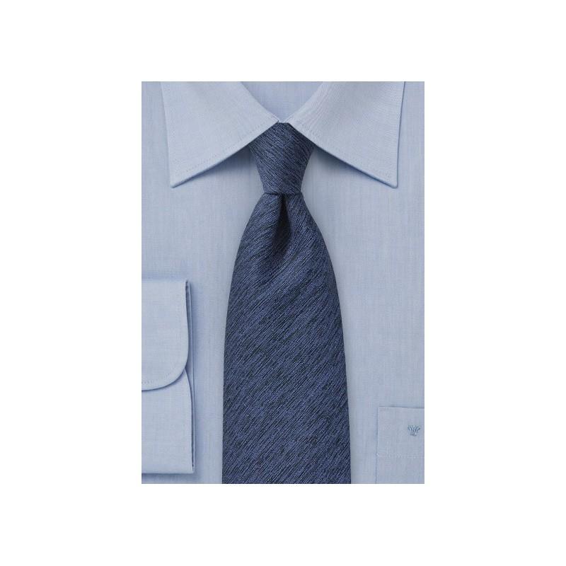 Winter Wool Tie in Royal Blue
