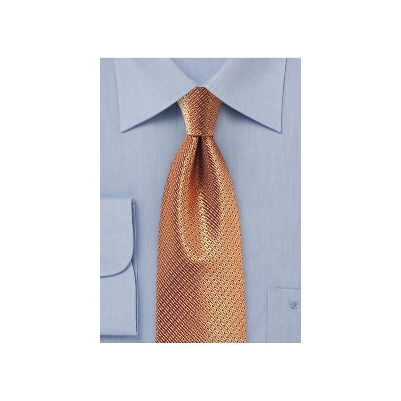 Rose Gold Colored Silk Tie