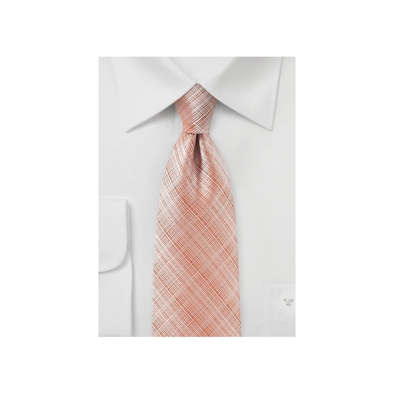Salmon Colored Summer Tie