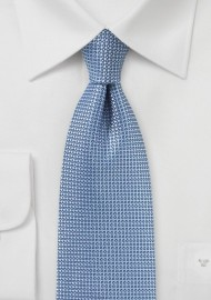 Textured Designer Tie in Blue