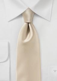 Golden Champagne Mens Tie