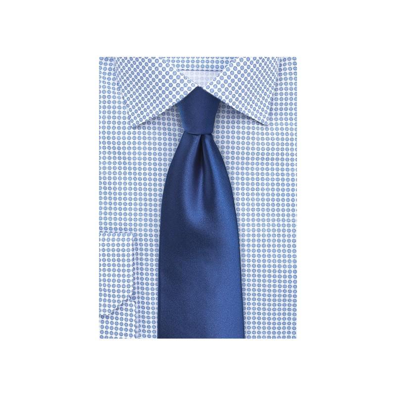 Royal Blue Tie in XL