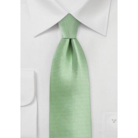 Laurel Green Mens Tie in XL