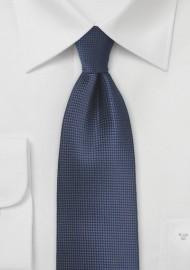 Kids Tie in Dark Navy Blue Color
