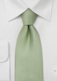 Light Green Kids Silk Tie