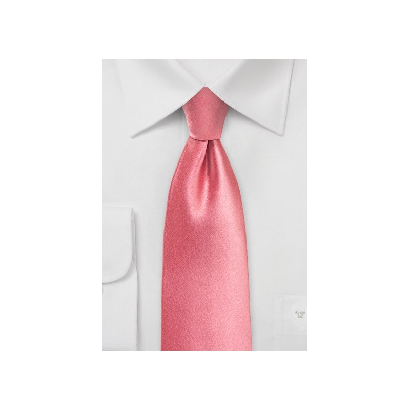 Tulip Pink Summer Tie in XL