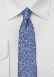 Ultramarine Blue Skinny Tie