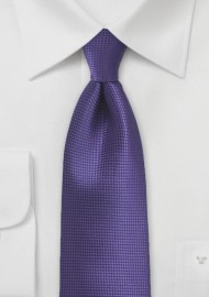XL Tie in Violet Grape
