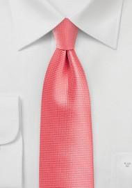XL Summer Tie in Georgia Peach