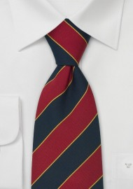 Classic Regimental Tie for Kids