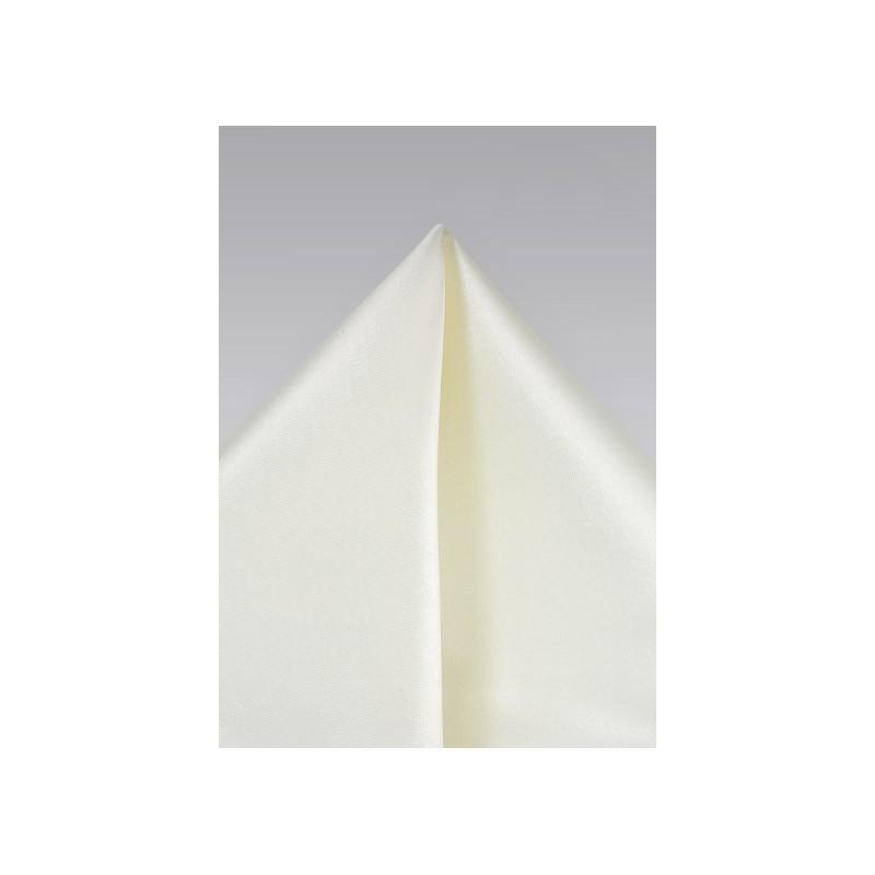 Soft Cream Colored Hanky