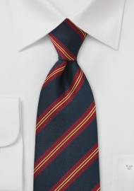 Kids Regimental Striped Tie