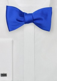 Self Tie Bow Tie in Horizon Blue