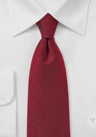 Rosewood Red Textured Tie