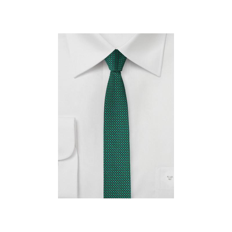 Sea Green Super Skinny Tie