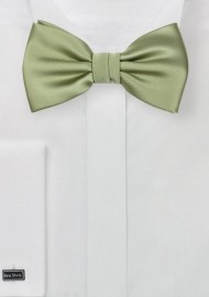 Tea Green Mens Bow Tie