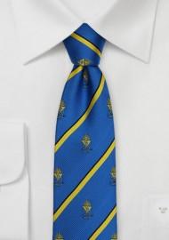 Alpha Epsilon Pi Skinny Necktie