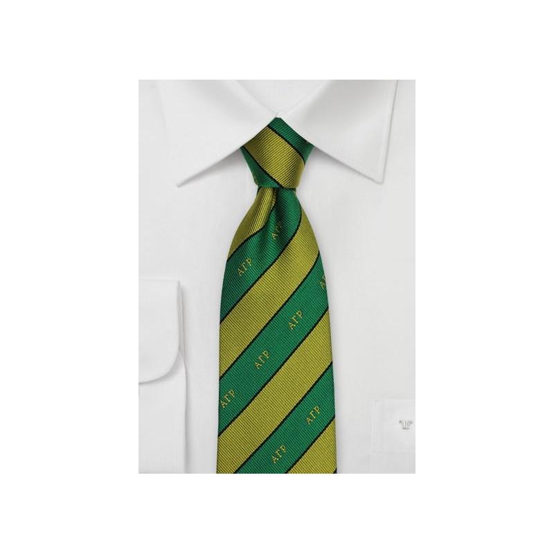 Alpha Gamma Rho Silk Necktie
