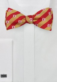 Self Tie Bow Tie for Kappa Alpha