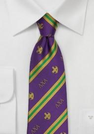 Lambda Chi Alpha Silk Necktie